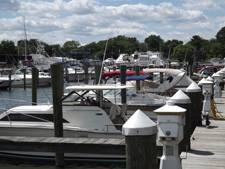 Marina on Northeast River in Maryland